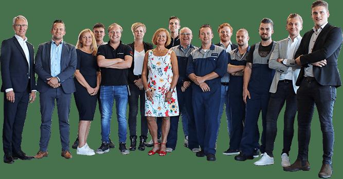 Team van Autobedrijf Hansen